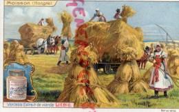 CHROMO LIEBIG - HONGRIE  MOISSON- SCENE DE FERME -AGRICULTURE- FRAY BENTOS URUGUAY- COLON ARGENTINE - Liebig