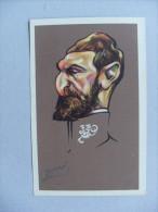 Cartolina Caricatura 1914-1918 Vincitori E Vinti (Victors And Vanquished) ROMANIA - Il Re Ill.G. PEROLI - Figuren
