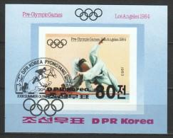 Korea North 1983 Mi Block 142B JUDO   UNDENTED - Zomer 1984: Los Angeles