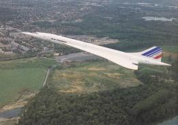 CONCORDE AIR FRANCE EN VOL - Non Circulée - - 1946-....: Moderne