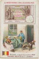 Papier Monnaie Belgique 20 Francs Billet Attelage De Chien Chromo Pub Chicorée Arlatte Cambrai - Munten (afbeeldingen)
