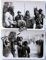 Lot Photo Ethnique Culture Gitan Gipsy Snapshot 1930 - Ethniques, Cultures