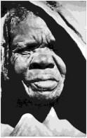 Tchad-ZOUAR -(Massif du Tibesti) Vieille Femme Indig�ne-Clich� Bourdelon