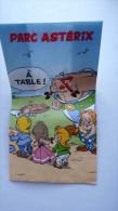 ASTERIX SAC EN PAPIER MENU ENFANT ILLUSTRE - 2000 - PARC ASTERIX - Livres, BD, Revues