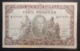 (B0864)  - 100 PESETAS - 1940 - [ 3] 1936-1975 : Régence De Franco