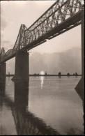 ! 1917 Alte Fotokarte, Photo, Cernavoda, Eisenbahn Donaubrücke, Rumänien, Romania, Bridge - Rumänien