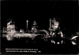 ! 1955 Ansichtskarte Bregenzer Festspiele , Eine Nacht In Venedig, Österreich, Theater - Bregenz