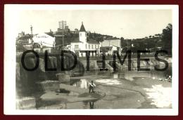 TOMAR - RIO NABAO - LIMPANDO O RIO - LAVADEIRAS - 1950 REAL PHOTO PC - Santarem