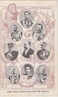 Les Vaillants Alliés De 1914-15 - Personajes