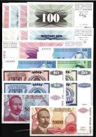 Bosnie - Bosnia Lot De 20 Billets Neufs 1er Choix UNC - Bosnië En Herzegovina