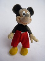 FIGURINE MICKEY FLOQUE AVEC UN PANTALON EN TISSUS - DISNEY - Disney
