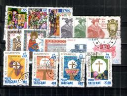 2990- Vatikan Poste Del Vaticano 1985 Komplett Gestempelt - Vatican