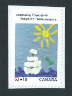 Canada, 2013, Canada Post Community Foundation,  Sun, Water,  Floating Adrift Eau Soleil Voilier A La Derive, - Carnets