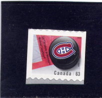 CANADA  2013, 2665   HOCKEY NHL  MONTREAL CANADIAN  LOGO  Single  Mnh Coil - Roulettes