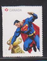 Canada, 2013, # 2682,  Superman   Single From Bklet Mnh - Carnets