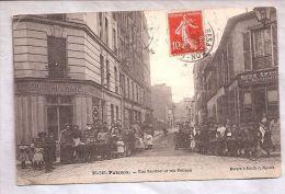 CPA - Puteaux (92) - Rue Saulnier Et Rue Poireau - Puteaux