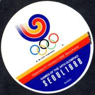 SOUTH KOREA 1988 - OLYMPIC GAMES SEOUL ´88 - STICKER / AUTOCOLLANTE - Giochi Olimpici