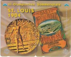 UK(GPT) - St.Louis 1904 Olympics, Puzzle Of 2 Mercury Cards, CN : 49MERTWOA, Tirage 1001, Mint - Puzzles