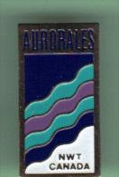 33184-Pin's.Northwest Territories, Canada.Aurore Boréale - Städte