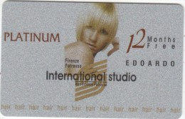 GREECE - International Studio Edoardo, Platinum Member Card, Unused - Other Collections