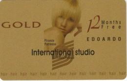 GREECE - International Studio Edoardo, Gold Member Card, Unused - Other Collections