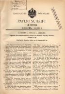 Original Patentschrift - C. Mayer In Oeslau / Rödental B. Coburg , 1905 , Zugmuffel Für Porzellan Und Glas !!! - Historische Dokumente
