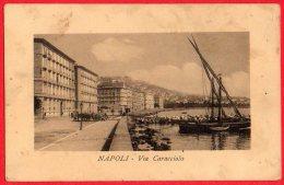 [DC6250] NAPOLI - VIA CARACCIOLO - Old Postcard - Fiabe, Racconti Popolari & Leggende