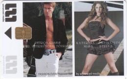 GREECE - Fashion Events, Petros Gissis/Katerina Stikoudi, Advanced Media Smart Cards Solutions, Sample - Andere Sammlungen