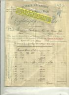 76 - Seine-maritime - ROUEN - Facture DEGLATIGNY & LARCHER - Scierie - 1903 - 1900 – 1949