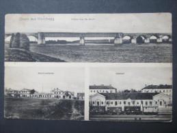 AK MARCHEGG B.Gänserndorf  Bahnhof 1915  //  D*11077 - Gänserndorf