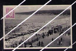 Portugal Cpa FIGUEIRA DA FOZ Beach Sea Commemorative Pmk View Landscape Paysage Postcards 5017 - Portugal
