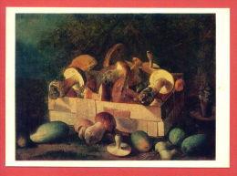 142497 / Russia  Art Ivan Trofimovich Hrutskiy -  Crate Of Mushrooms , Garlic, Pumpkin - Russie - Non Classificati