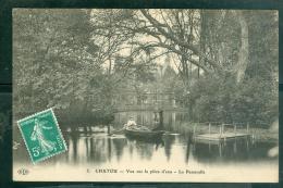 N°5   -   CHATOU -   Vue Sur La Pièce D'eau  - La Passerelle  - Gc245 - Chatou