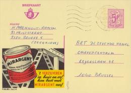 PUBLIBEL 2663°: (MIRARGENT) : ROEST,VERF,ROUILLE,PEINTU RE,RUST,PAINT,ALUMINIUM, - Stamped Stationery