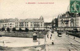 B4338 Belfort - Le Boulevard Carnot - Belfort - Ville