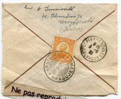 - Dos D'enveloppe - Serbie, Kragujevag, Pour La France, Calvados, 1921, St-Pierre-sur-DIVES, Bon état, Scans. - Serbie