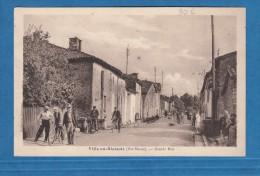 CPA - VILLE En BLAISOIS - La Grande Rue - Collection Dutrenois - RARE - 1939 - France