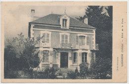 19 // LAGARDE   Hotel De La Poste   ** - Other Municipalities