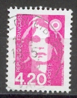France - Marianne De Briat 4,40 Rose YT 2770 Obl - 1989-96 Marianne Du Bicentenaire