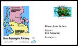 30013) Dänemark - Michel 829 - FDC - Bonn-Kopenhagener Erklärungen - FDC