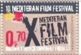 BHHB 2009-268 10th MEDITERAN FILM FESTIVAL, BOSNA AND HERZEGOVINA-HERZEGBOSNA(C ROAT), 1v, MNH - Cinema