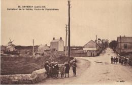 44 SAVENAY - Carrefour De La Vallée, Route De Pontchâteau - Savenay