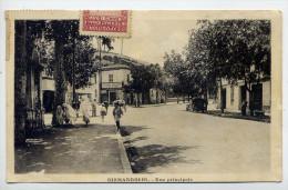 Algérie--BIRMANDREIS--1938--Rue Principale (très Animée,voiture) Photypie Albert--Belle Carte Peu Courante - Andere Steden