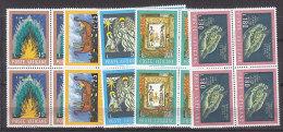 PGL BT146 - VATICANO SASSONE N°553/57 **  QUARTINE - Vatican
