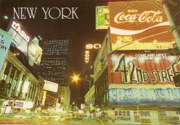 NEW YORK: POSTCARD TIMES SQUARE. YOU CAN SEE ALL THE LIGHTS! GECKO. - Time Square