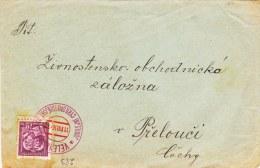 Special Cachet: Praha 20.8.1936 Jubilejni Cyrilometodejski Gslavy Les Fetes Jubilaires En L'Honneur De Saint Cyrille Et - Czechoslovakia