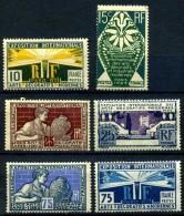 Y&T N° 210**/215** - Unused Stamps