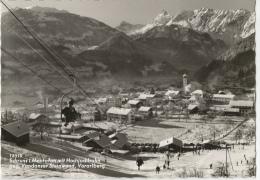 Schruns I. Montafon Mit Hochjochbahn Geg. Vandanser Steinwand - Vorarlberg - Schruns