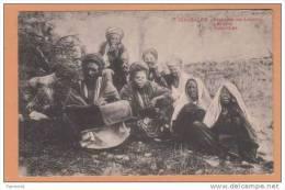 1920 Irael Jerusalem ( Groupe De Lépreux  Leppers, Aussatzige ) Carte Postale Postcard Cpa Animé - Santé