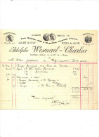 IMPRIMERIE WESMAEL CHARLIER - NAMUR  - MR CLAES A SALZINNES - Printing & Stationeries